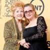 Debbie Reynolds and Daughter