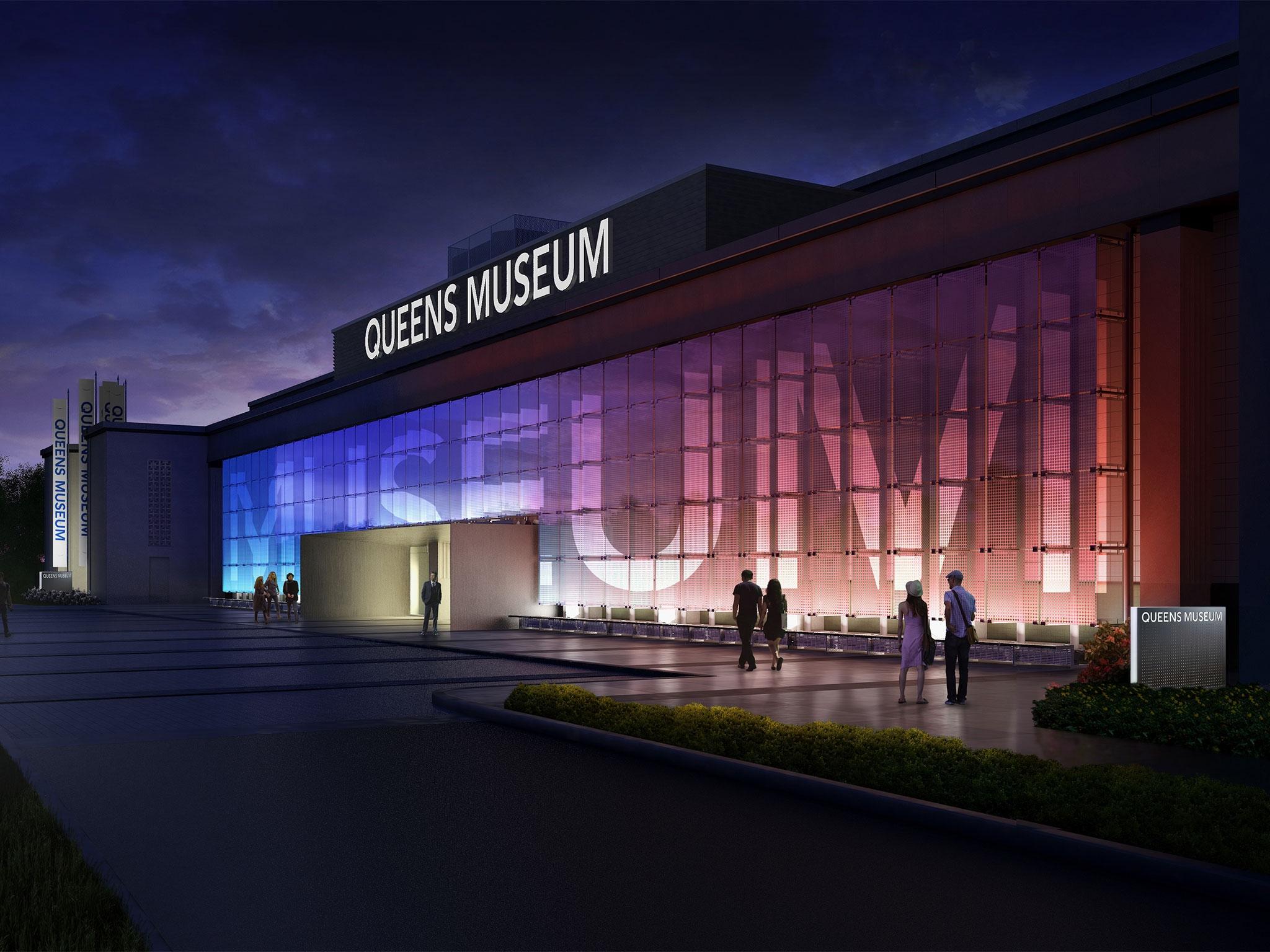 Queens-Museum-night