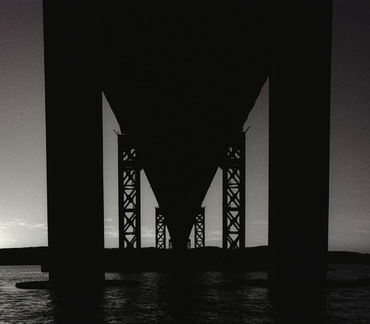 Tappan Zee Bridge silhouette