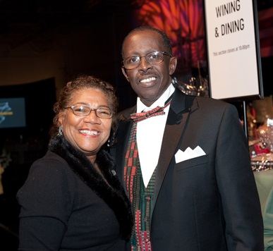 Sondra and Larry Salley at ArtsWestchester's 2010 Gala