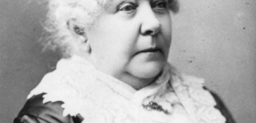 Elizabeth Cady Stanton (photo via Wikimedia Commons public domain)