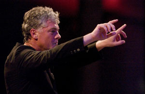 Michael Barrett Conducting