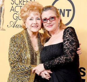 Debbie Reynolds and Daughter